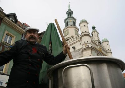 Zupa królewska- Gęsina na Imieninach 2013